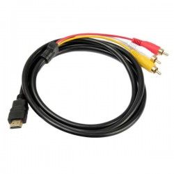 Cable adaptador de HDMI a RCA