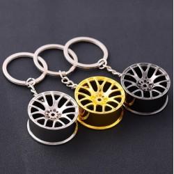 Llavero de metal rueda /...