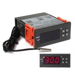 Termostato digital 12 v con...