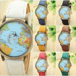 Reloj World Traveler  mapa...