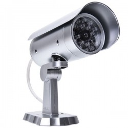 Cámara vigilancia falsa con...