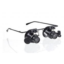 Gafas lupa lentes 20 X...