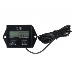 Tacómetro Digital infrarrojo con láser de no contacto
