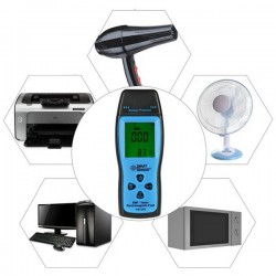 Altímetro, barómetro, brújula, termómetro, tiempo, 6 en 1 digital